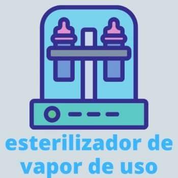 esterilizador de vapor de uso
