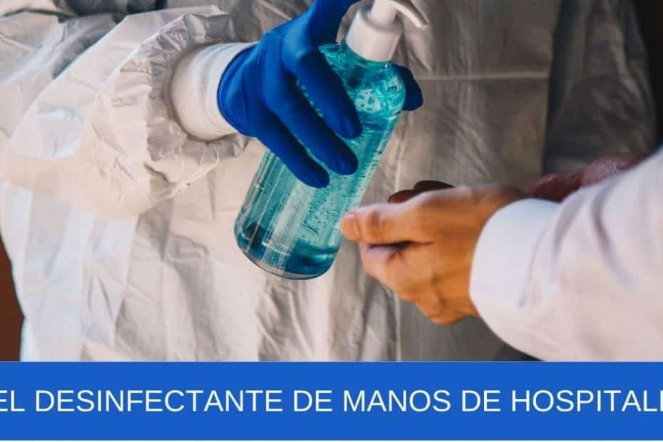 imagen banner Gel desinfectante de manos de hospitales
